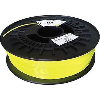 Filament German RepRap 100430 PLA plastic 1.75 mm Signal yellow 750 g
