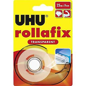 Tape UHU Transparent (L x W) 25 m x 19 mm Content: 1 Rolls