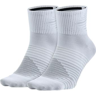 Nike 2 Pack Dri-FIT Anti-Blister QTR Socke