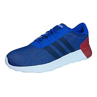 adidas Neo Lite Racer Mens Running Trainers / Shoes - Blue