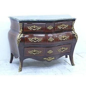 baroque chest of drawers cupboard louis pre victorian antique style MoKm0472Gn
