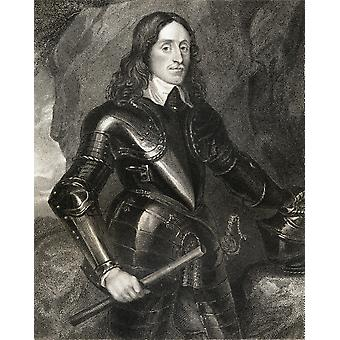 William Kerr1St jarl av Lothian C1605 1675 skotsk Patriot og soldat fra boken losjer britiske portretter publiserte London 1823 PosterPrint