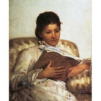 The Reader 1877 Poster Print by  Mary Cassatt