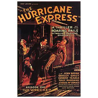 The Hurricane Express Movie Poster Print (27 x 40)