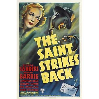 The Saint Strikes Back Movie Poster (11 x 17)