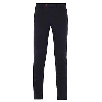 Aquascutum Navy Garment Washed Chinos
