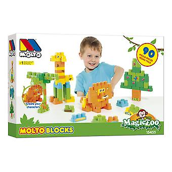 Molto Blocks Box 90 Pieces (Kids , Toys , Construction , Bricks)