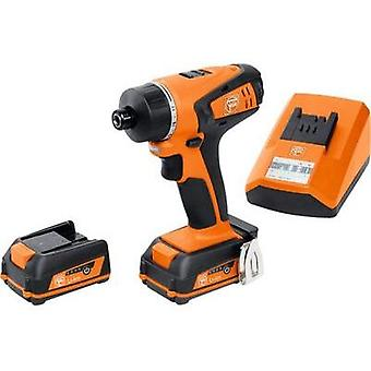 Fein ABSU12W4C Cordless screwdriver 12 V 2.5 Ah Li-ion incl. spare battery, incl. case