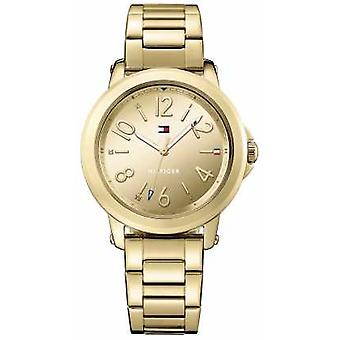 Tommy Hilfiger Womans Stainless Steel Gold Bracelet 1781751 Watch