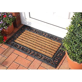 Coco Rubber & Coir Classic Doormat 006