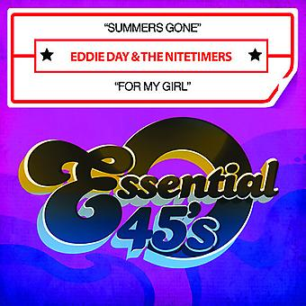 Eddie Day & the Nitetimers - Summers Gone / for My Girl USA import