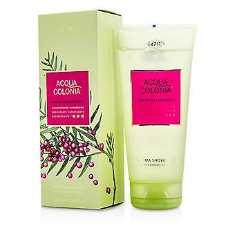 4711 Acqua Colonia Pink Pepper & Grapefruit Aroma Shower Gel 200ml/6.8oz