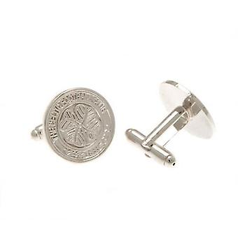 Celtic Silver Plated Cufflinks CR