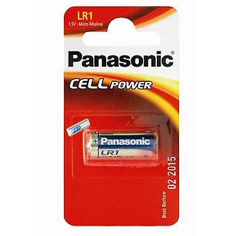 Batteri Panasonic LR1 batteri 1, 5V (N type / MN9100)-pakke med 10