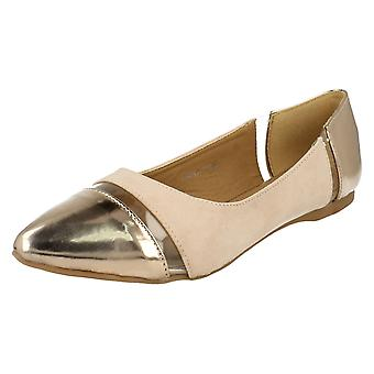 Dames Anne Michelle Perspex Flats