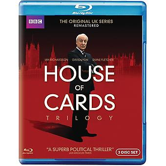 Importazione USA House of Cards Trilogy [BLU-RAY]