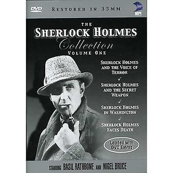 Sherlock Holmes Collection: Volume One [DVD] USA import