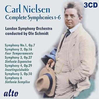 London Symphony Orchestra/Schmidt - Carl Nielsen: Slutföra symfonier 1-6 [CD] USA import