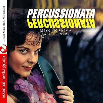 モンテ モヤ ・ サーファー - Percussionata [CD] 米国のインポートします。