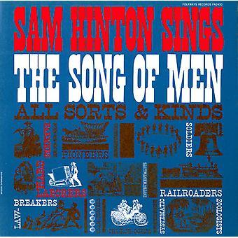 Sam Hinton - Sam Hinton Sings the Song of Men [CD] USA import