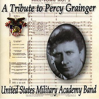 U.S. Military Academy Band - en hyldest til Percy Grainger [CD] USA import