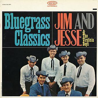 Jim & Jesse & Virginia Boys - Bluegrass Classics [CD] USA import