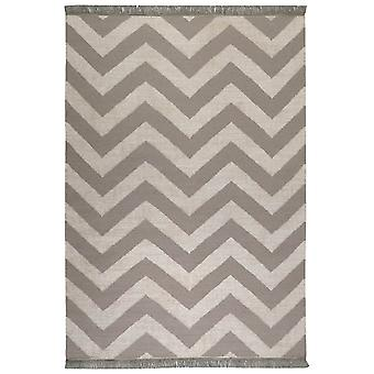 Zig Zag Rugs 0003 02 By Carpets & Co In Grey And Beige