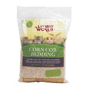 Living World Natural Corn Cobs Beddding (Small pets , Bedding)