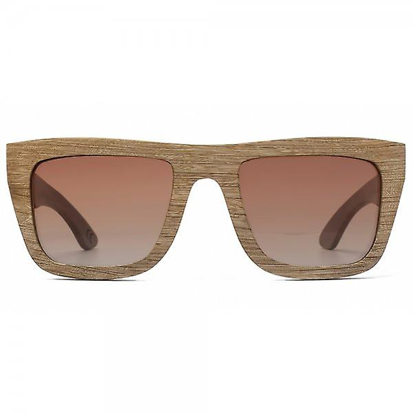 Tribe Zebrawood Sunglasses Polarised
