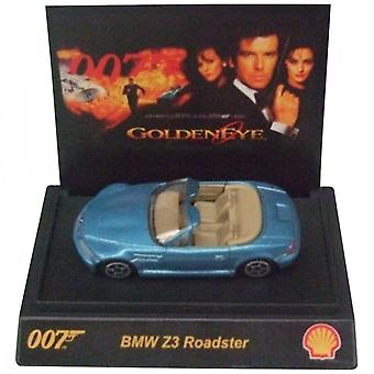 Shell James Bond 007 Collectible 1:64th Scale BMW Z3 Roadster By Shell