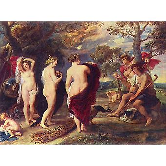 Peter Paul Rubens - In the Forest Poster Print Giclee