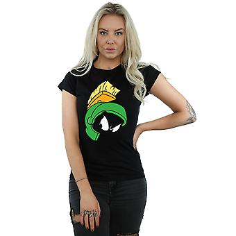 Looney Tunes Women's Marvin the Martian Face T-Shirt