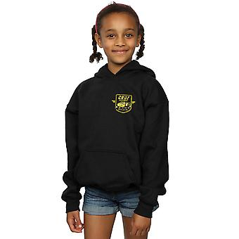 Disney Girls Cars Cruz Ramirez Faux Pocket Logo Hoodie