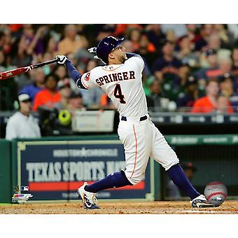 George Springer 2017 Action Photo Print