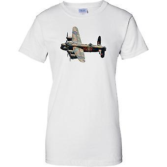 Lancaster Bomber WW2 Aircraft - Damen-T-Shirt