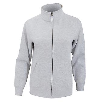 Fruit Of The Loom Ladies/Womens Lady-Fit Fleece Sweatshirt Jacket