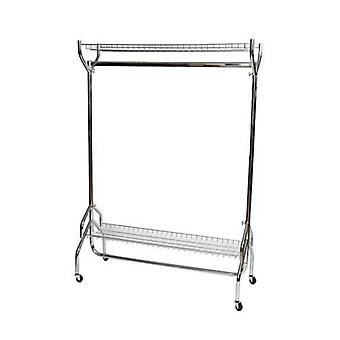 Caraselle Chrome Rail with 2 Shelves