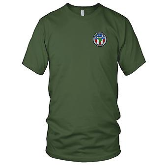 US Army - Army Airborne Reconnaissance Low Embroidered Patch - Mens T Shirt