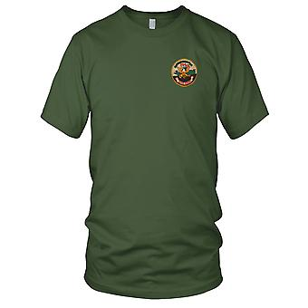 USN Navy River Riders 594 - Military Insignia Vietnam War Embroidered Patch - Mens T Shirt