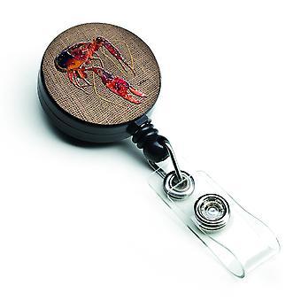 Carolines tesoros 8739BR cigalas insignia Retractable carrete