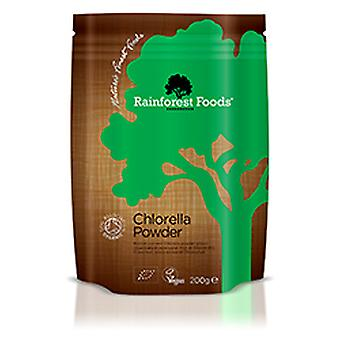 Rainforest Foods, Organic Chlorella Powder, 200g