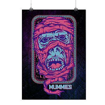 Matte or Glossy Poster with Animal Mummies Horror | Wellcoda | *d2645