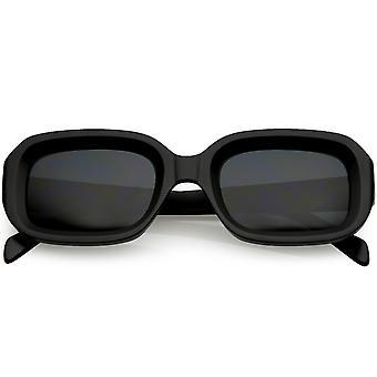 Коренастый матовой прямоугольник очки нейтральных цветные объектив 50 мм