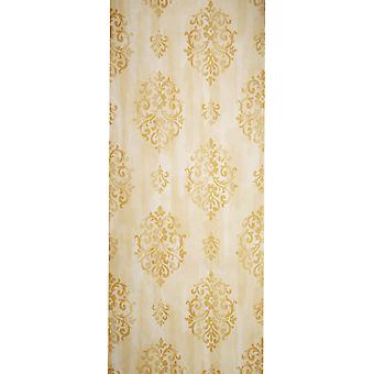 Zoffany Vinyl Wallpaper - Floral Design - Cream - ZV42801