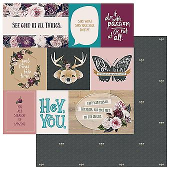 Gypsy Rose Double-Sided Cardstock 12