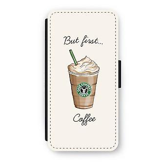 iPhone 7 Flip Case - men første kaffe
