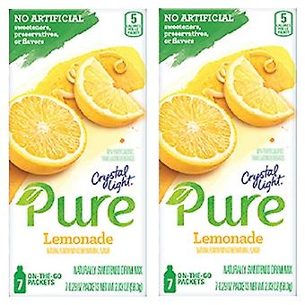 Crystal Light Pure Lemonade Drink Mix 2 Box Pack