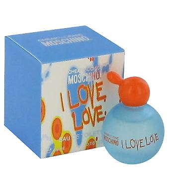 Moschino Cheap & Chic jag kärlek kärlek Eau de Toilette 4,9 ml Mini