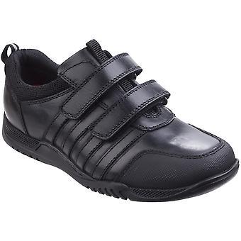 Hush Puppies jongens Josh Senior peuter Casual lederen twee Strap schoenen