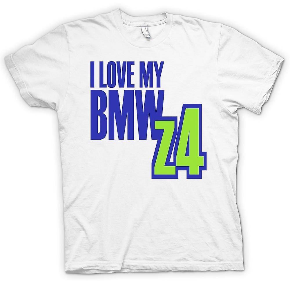 Mens T-shirt - I Love My BMW Z4 - Car Enthusiast